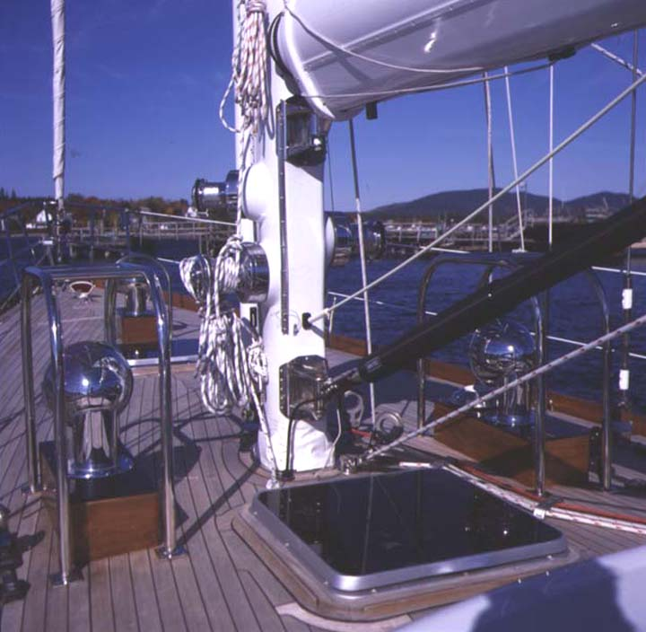0C52 foredeck